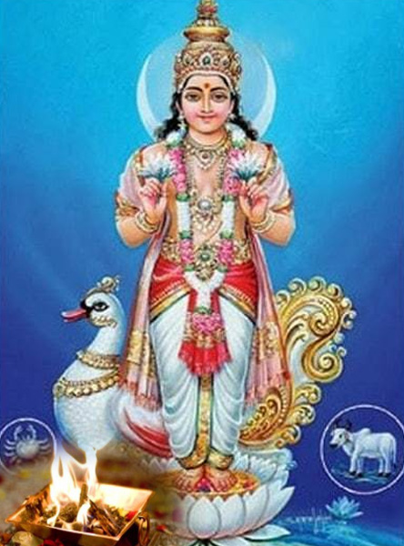 Chandra (Moon) Mantra Siddhi Japa & Yagna