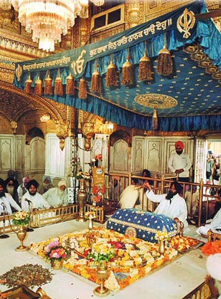 Guru Granth Sahib Puja and Lunger