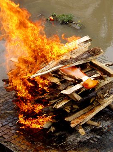 Hindu Cremation Ceremony